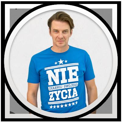 Marcin Kwaśny - Ambasador projektu | Nie zmarnuj swojego życia